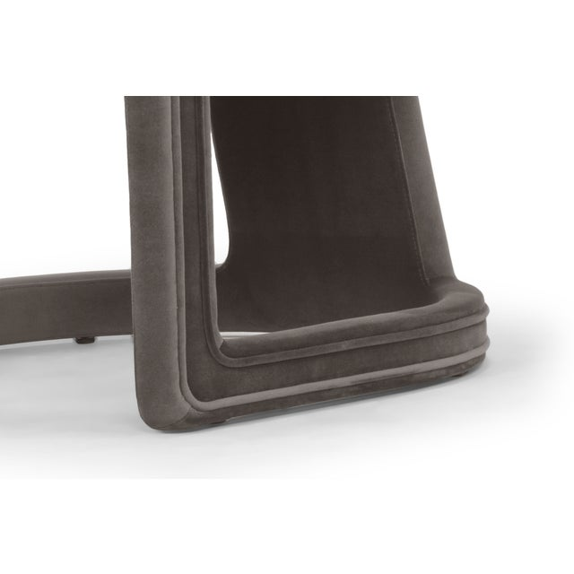 2010s Skylar Accent Chair, Mouse Grey For Sale - Image 5 of 6