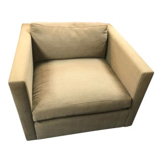 1970s Charles Pfister for Knoll Upholstered Lounge Chair For Sale