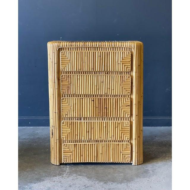 Rattan Dresser For Sale - Image 9 of 9