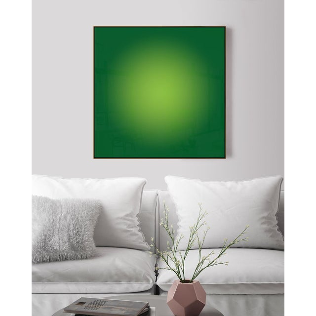 Green Halo by Alejandro Franseschini Print For Sale - Image 4 of 4