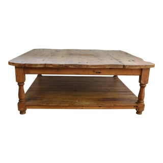 Rustic Coffee Table For Sale
