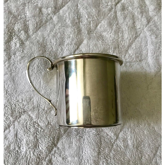 Chatillon Co. Sterling Silver Christening Childs Mug For Sale In New York - Image 6 of 6