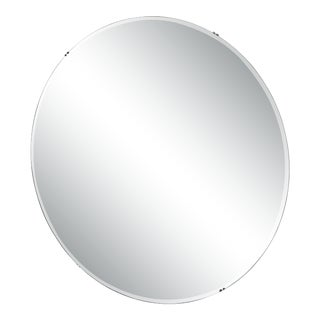 Art Deco Circle Mirror For Sale