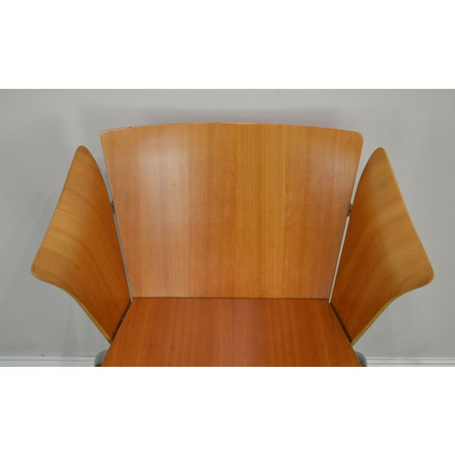 Wood Vico Magistretti for Fritz Hansen Danish Modern Armchair For Sale - Image 7 of 13