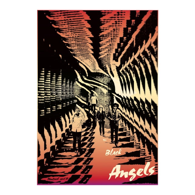 2011 Contemporary Music Poster - Black Angels For Sale