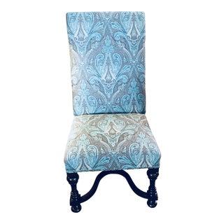 Bernhardt Aqua Paisley Chair