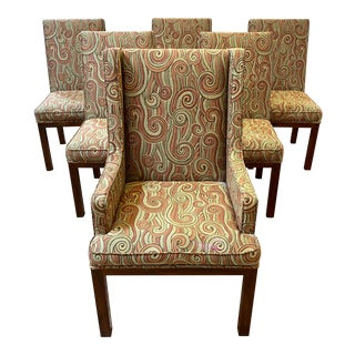 John Widdicomb Rapids Parsons Chairs - Set of 6 For Sale