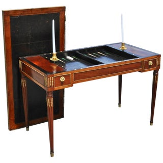 Late 18th Century Louis XVI Backgammon or Trictrac Game Table For Sale