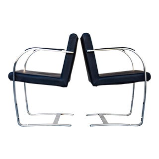 Mies Van Der Rohe Chairs - A Pair For Sale