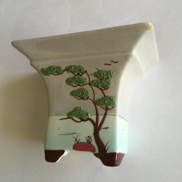 Vintage Weil Ware Ceramic Wall Vase Chairish