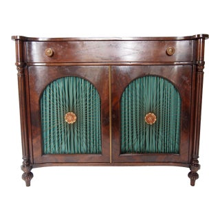 Vintage Mahogany Regency Style Server For Sale