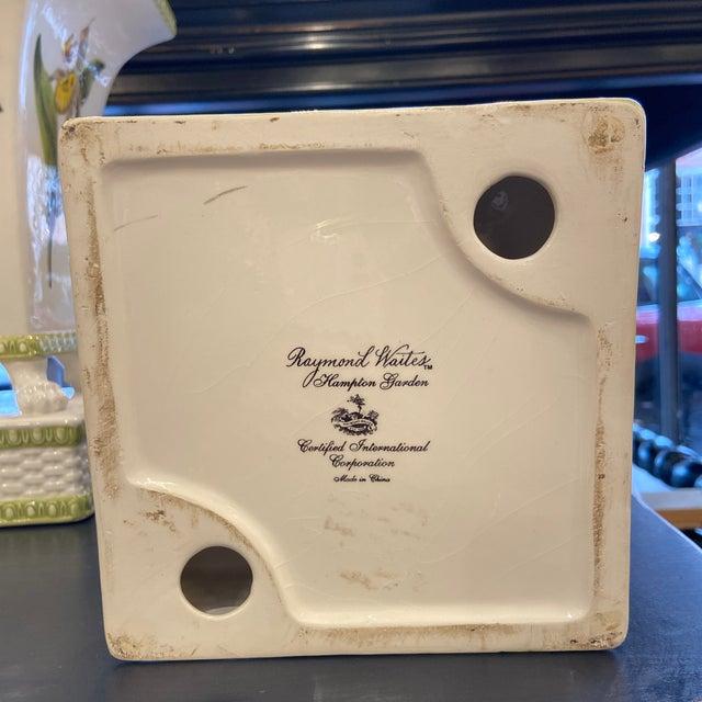 20th Century Raymond Waites Hampton Garden Cachepot- a Pair For Sale In Boston - Image 6 of 7