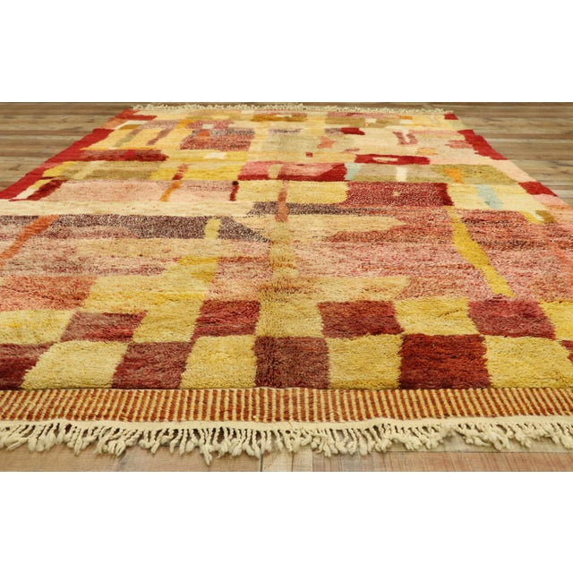 Textile Moroccan Contemporary Rug - 08'11 X 11'10 For Sale - Image 7 of 10