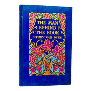 1929 The Man Behind the Book by Henry Van Dyke For Sale