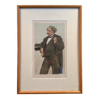 Framed Vanity Fair Print For Sale