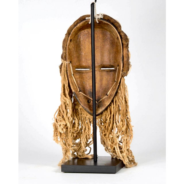 Dan People of Liberia Gold and Black Mask For Sale In Detroit - Image 6 of 7