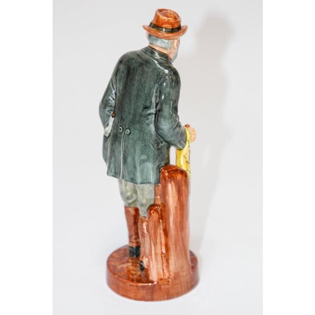 "Royal Doulton ""The Gaffer"" British Porcelain Figurine For Sale In Los Angeles - Image 6 of 9"