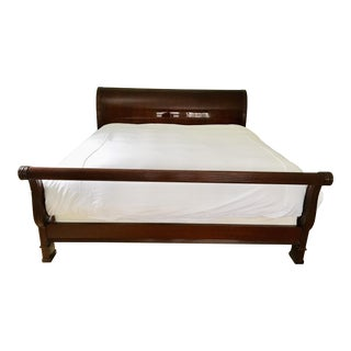 Councill Mahogany King Sleigh Bed For Sale