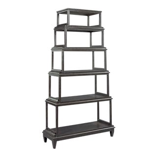 Modern Montecito 6 Tiered Etagere For Sale