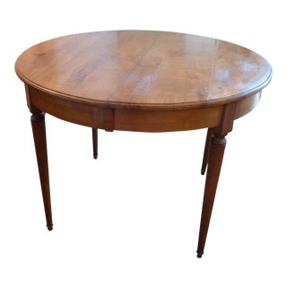 French Cherry Extending Table