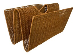 Image of Rattan Magazine Racks