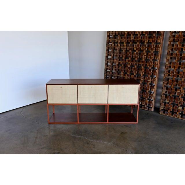 Enamel Milo Baughman for Murray Furniture Cabinet C. 1954 For Sale - Image 7 of 13