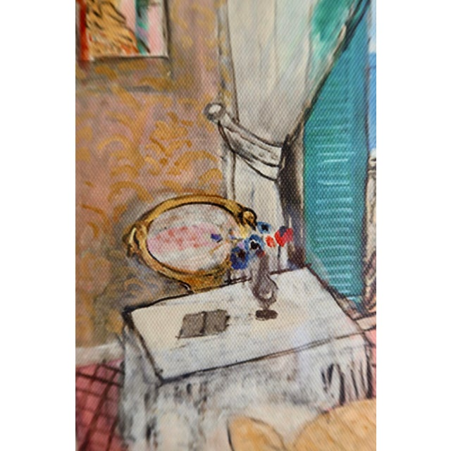 2010s Interior at Nice by Matisse - Rinoarts Production Print For Sale - Image 5 of 7