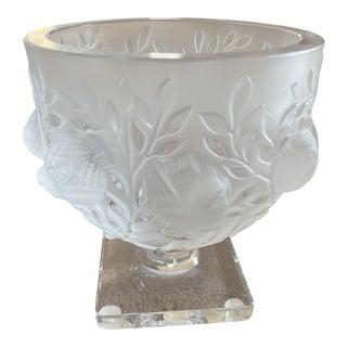 1960's Vintage Lalique Elisabeth Vase For Sale
