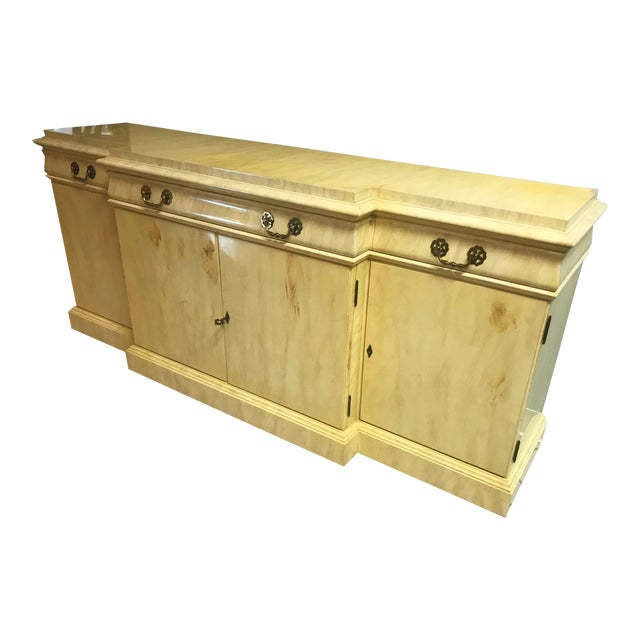 Vintage Lacquer Sideboard By Karges Furniture For Sale