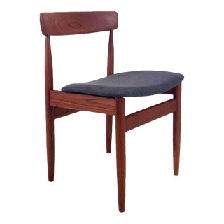 Vintage Danish Teak Dining Chairs - Set of 4 For Sale