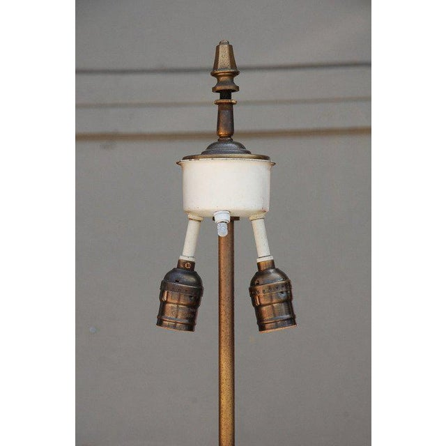 1940s 1940s French Bronze Floor Lamp For Sale - Image 5 of 6