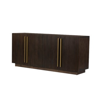 Contemporary Wayne Acacia Wood Sideboard For Sale