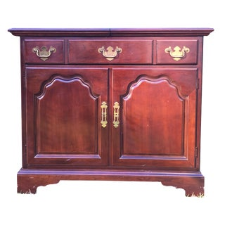 Drexel Cherry Chippendale Expandable Buffet
