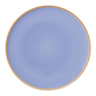 Contemporary 'Hermit' Plate in Lavender by Middle Kingdom - Large
