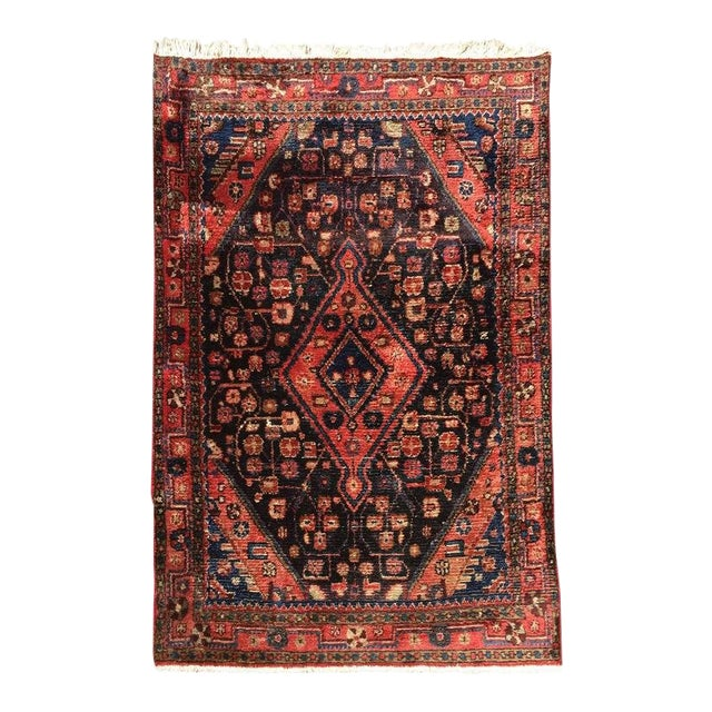 Small Turkish Hand-Knotted Rug For Sale