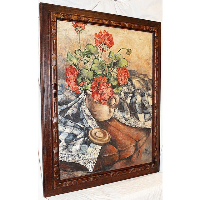 Midcentury Impressionist Painting For Sale - Image 4 of 11