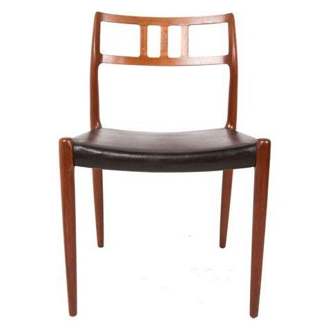 Niels Moller Danish Teak Dining Chairs - Set of 6 - Image 2 of 7