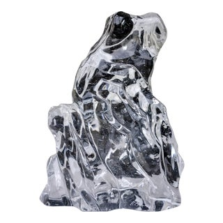Scholar Rock Crystal Sculpture - Vertical For Sale