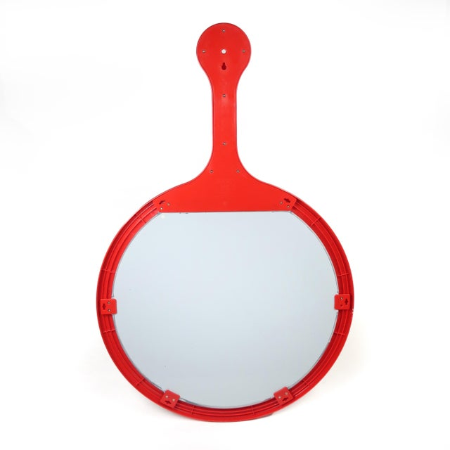 1990s 1990s Red Dyrvik Wall Mirror by Ikea For Sale - Image 5 of 10