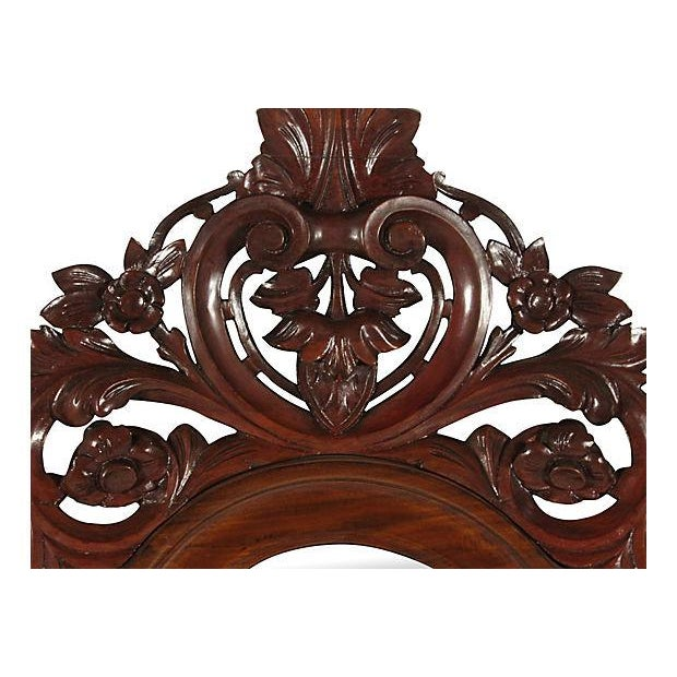 19th-C. Colonial Pier Mirror For Sale - Image 4 of 5