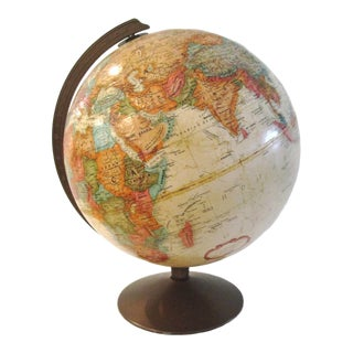 Replogle Classic Series Earthtone World Spinning Globe For Sale