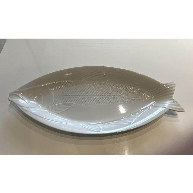 Contemporary Mikasa Studio Nova Japan Fish Platter For Sale - Image 3 of 3