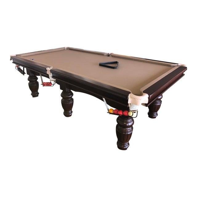 Handmade SnookerPool Table Chairish - Handmade pool table