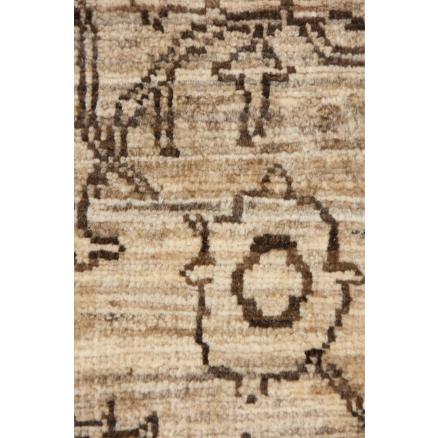 "Gabbeh Hand Knotted Area Rug - 6'7"" X 9'9"" - Image 3 of 3"