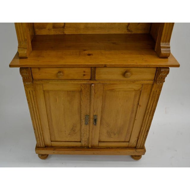 Traditional Pine Glazed Buffet For Sale - Image 3 of 10