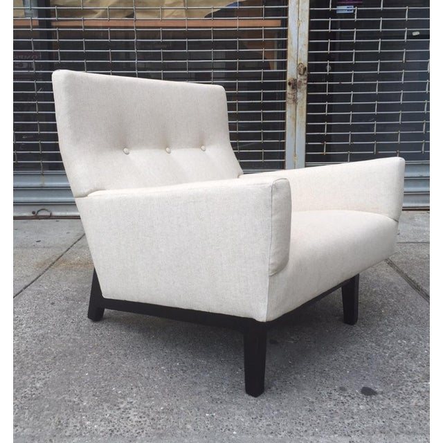 Jens Risom Lounge Chair For Sale In New York - Image 6 of 6
