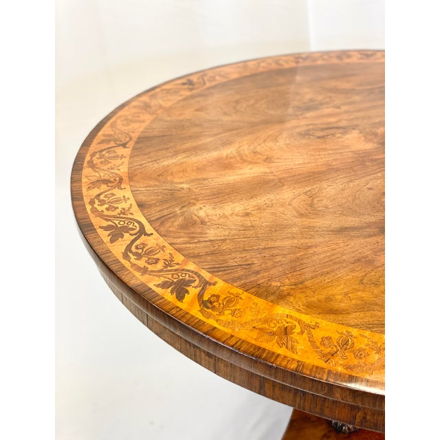 Late 19th Century English Regency Breakfast Table For Sale - Image 4 of 7