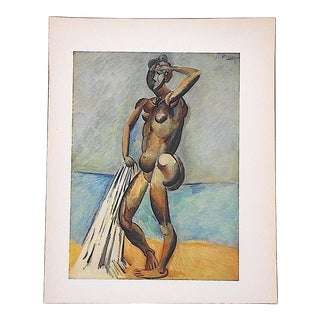 Vintage Mid 20th Century Picasso Lithograph