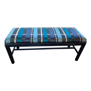 Vintage Chippendale Style Parsons Bench For Sale