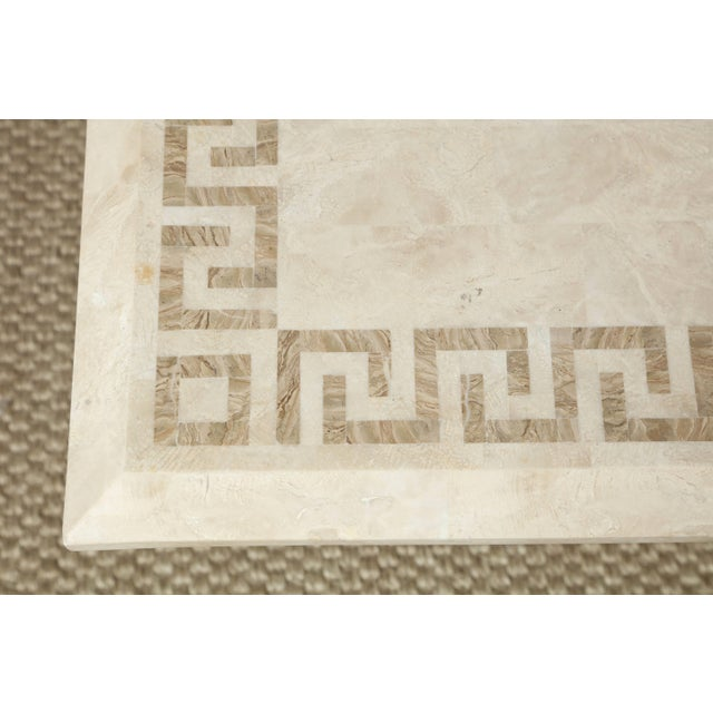 Square Marble Dining or Conference Table For Sale In New York - Image 6 of 11